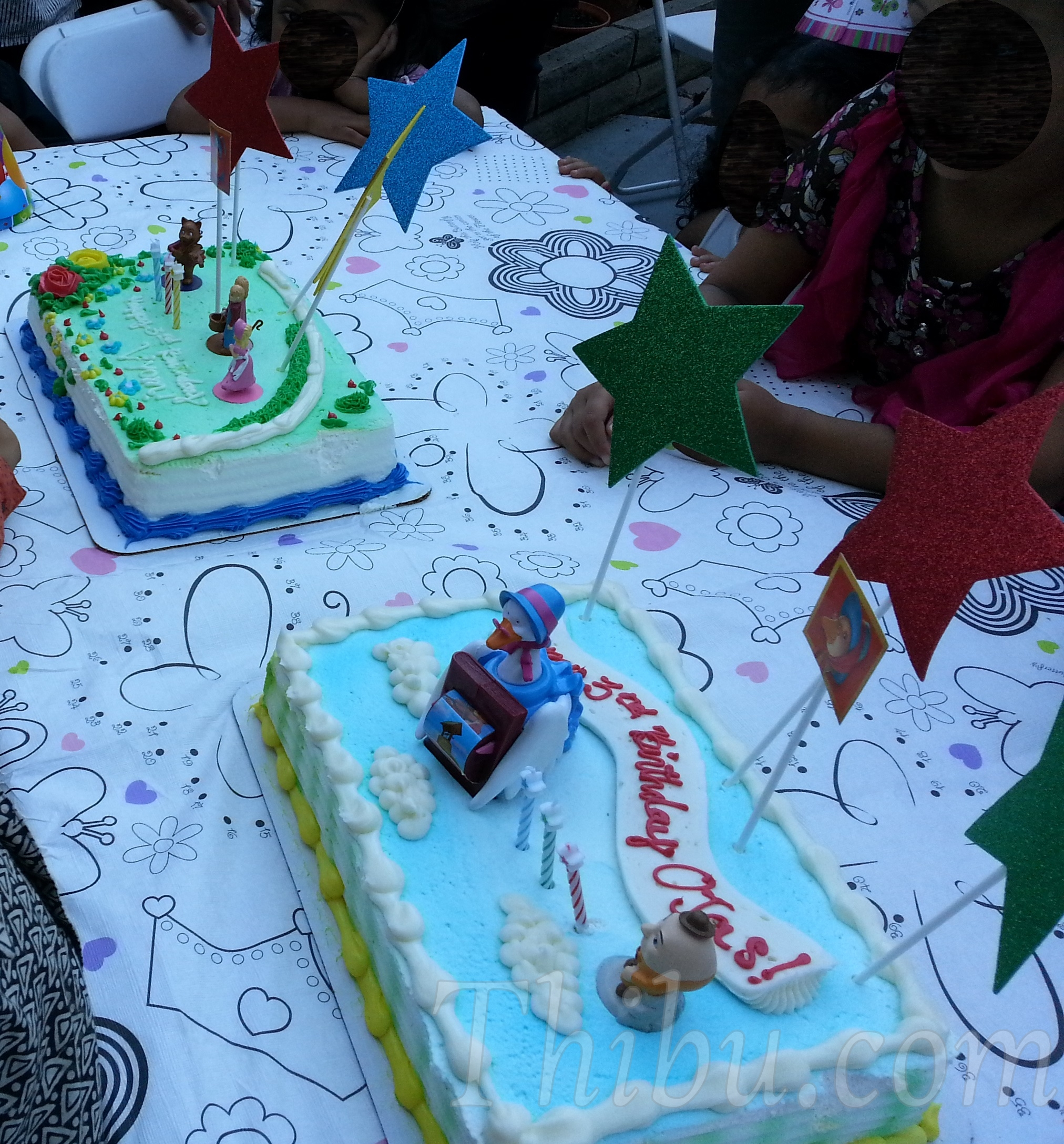 Nursery Rhyme Themed 3rd Birthday Party Thibu Times