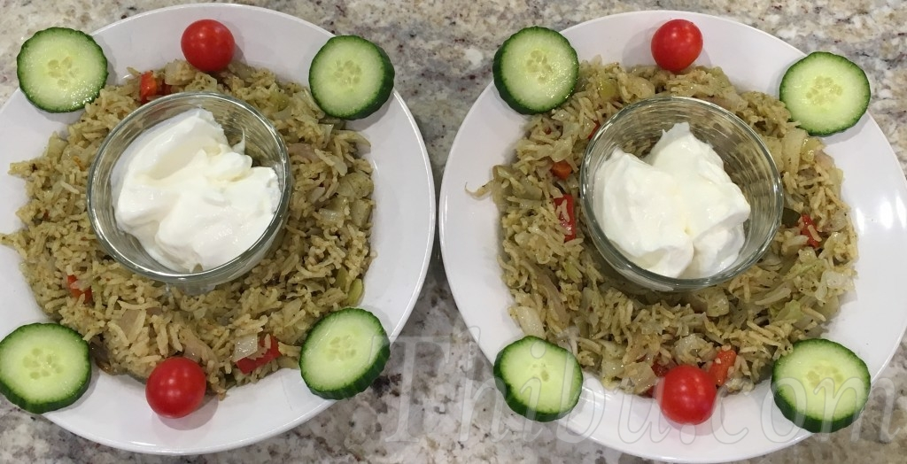 OnionCabbageRedPepperMintPulao1
