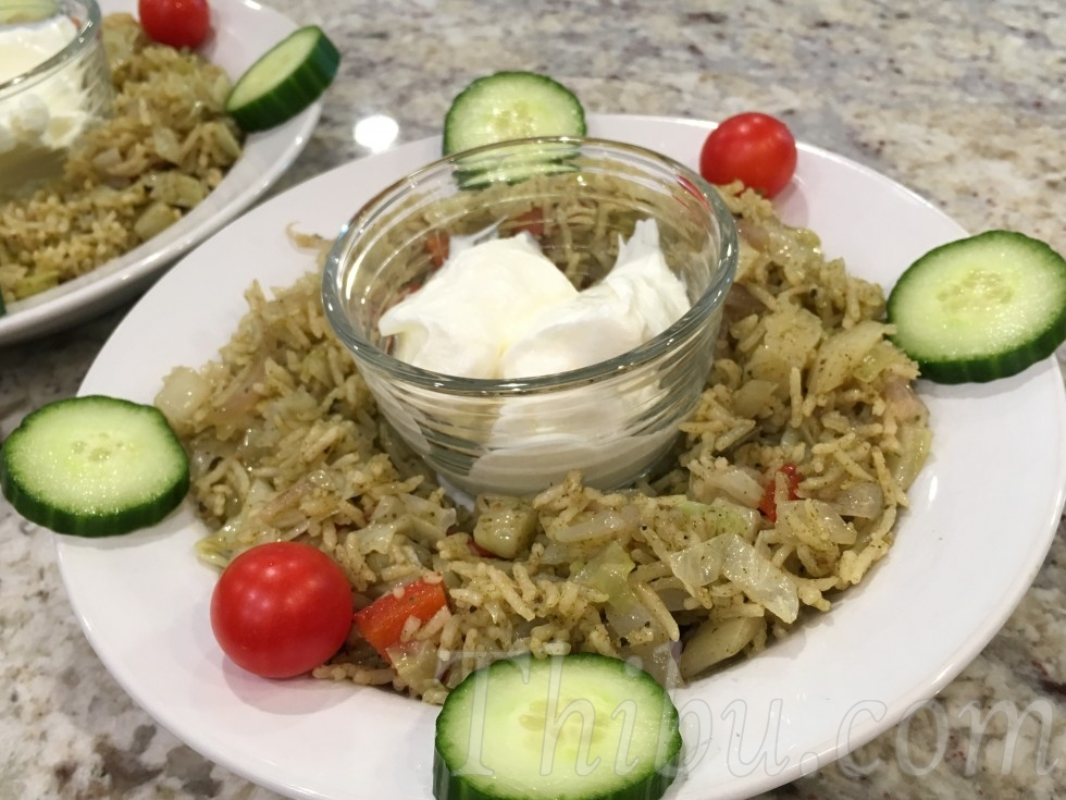 OnionCabbageRedPepperMintPulao2