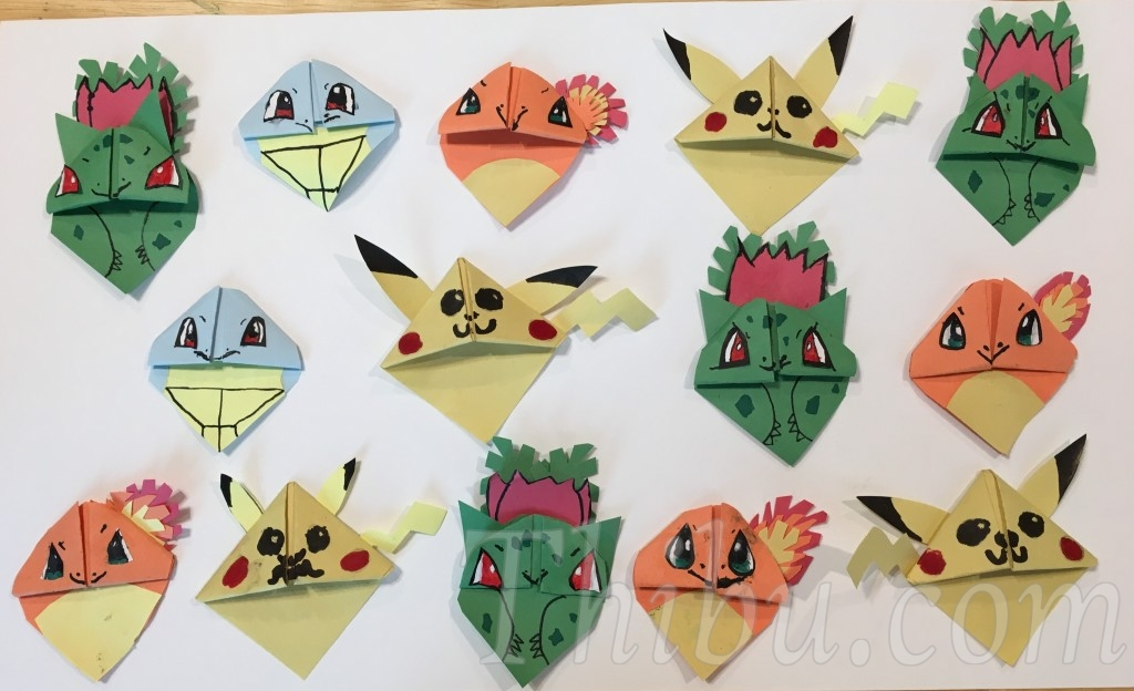 Pokemon Origami Image Collections Instructions Easy For Kids