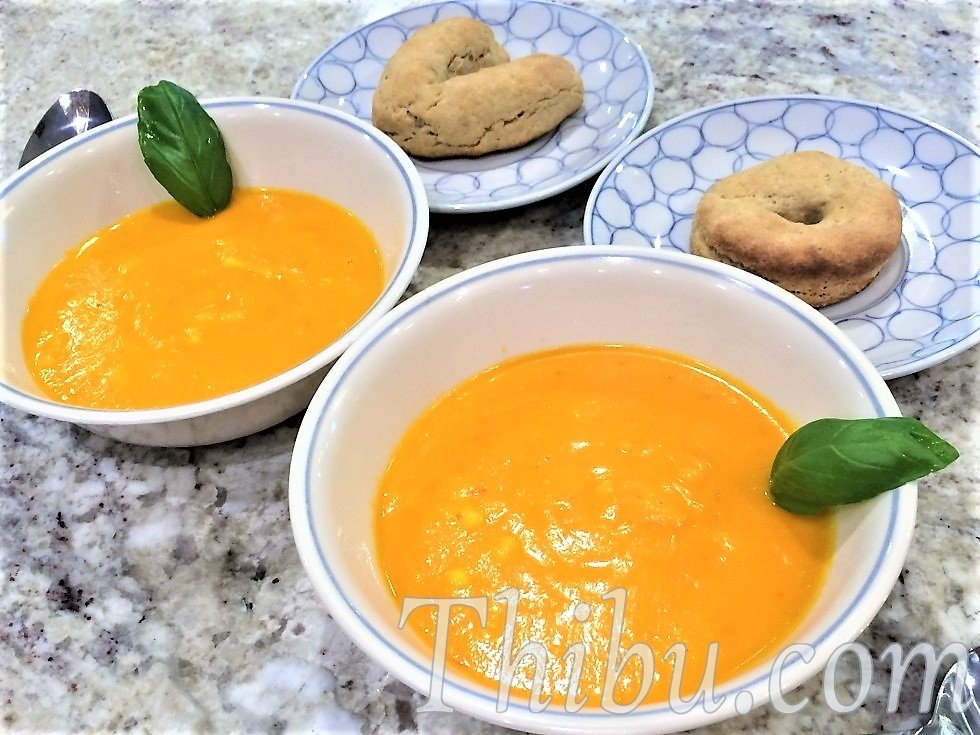 TOMATO CARROT BELL PEPPER SOUP